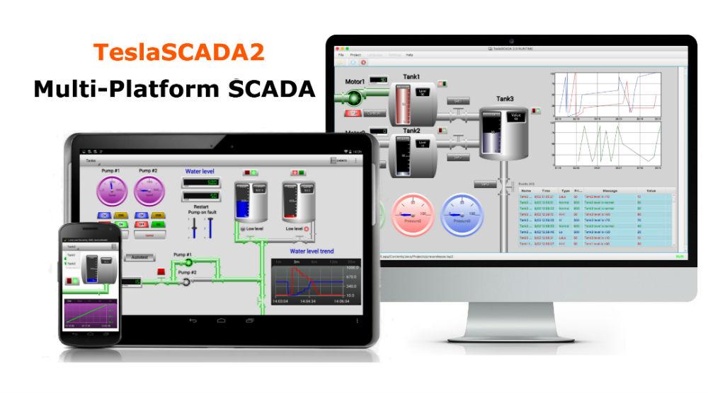 Product TeslaSCADA2 - Multi-platform SCADA system - teslascada